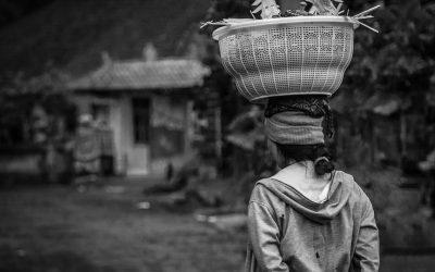 Jeffe Castan - Scéne de rue (Bali)