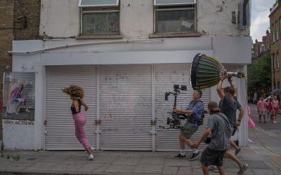 Claude Françoise Grellet - Le tournage